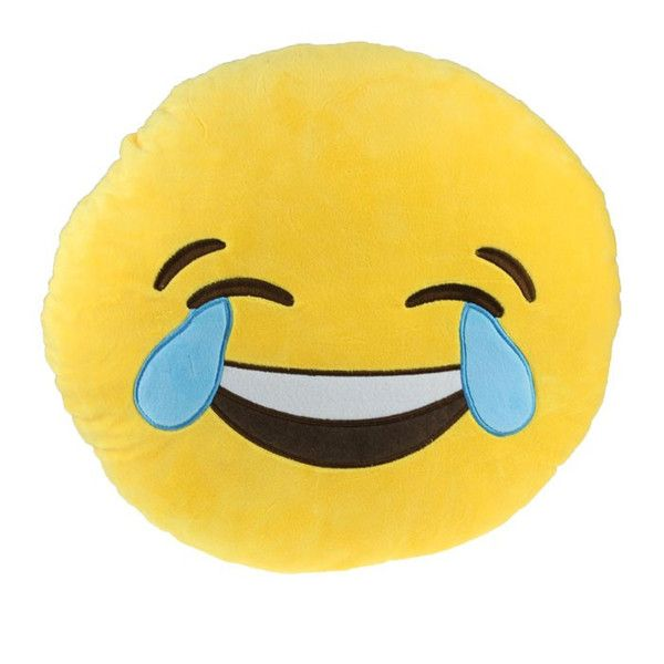 Crying Laughing Emoji Pillow