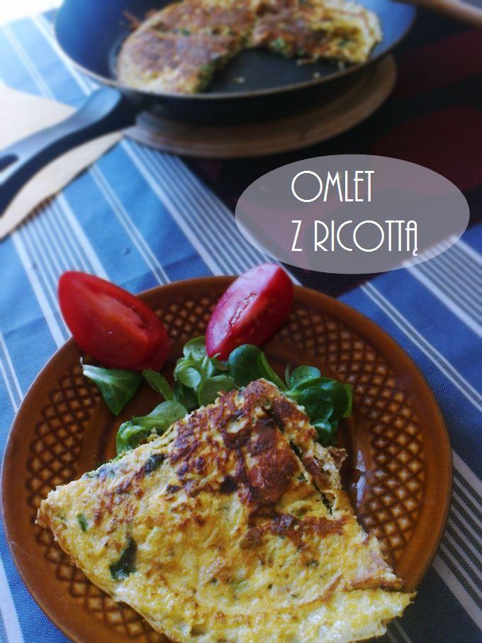 omlet z ricottą