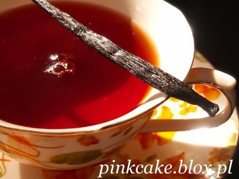 Herbata z różą i wanilią
