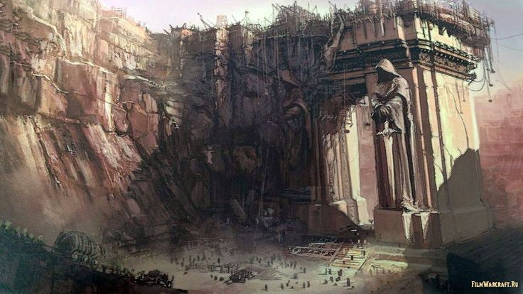 Темный Портал — Концепт-Арт Warcraft