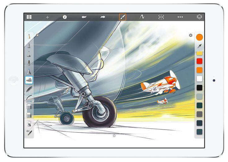 SketchBook Pro for iPad #Apple #iPadAir