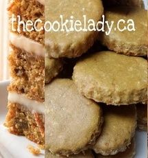 The Cookie Lady - Dog Biscuits - *New Flavor* Carrot Cake Cookies