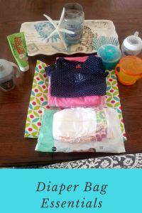 Diaper Bag Essentials - Tug Wife Life