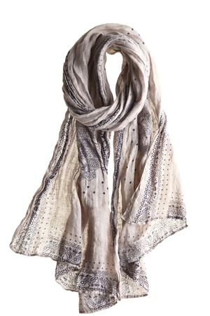 Kipour Scarf::SCARVES::SHOES & ACCESSORIES::FINAL SALE::Calypso St. Barth