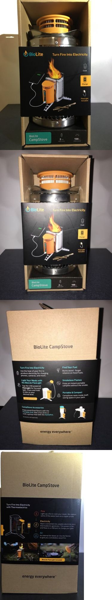 Camping Stoves 181386: Nib Biolite Camp Stove Usb Charger Camping Generator With Flexlight BUY IT NOW ONLY: $109.0