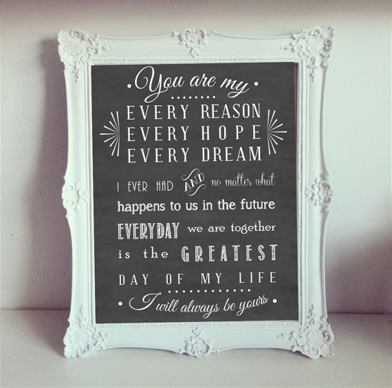 Notebook Movie Quote Every Reason Every Hope by InsanityArtworks, $12.00