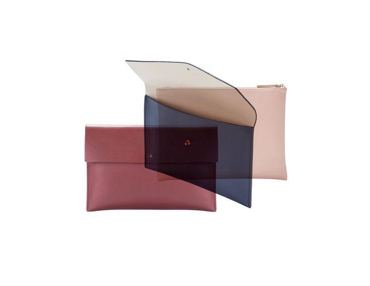 ALESYA ORLÓVA Pouch / minimal, accessory, handbag, simplicity