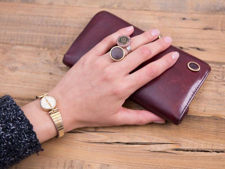 Tutorial fai da te: Come fare anelli riciclando i bottoni via DaWanda.com