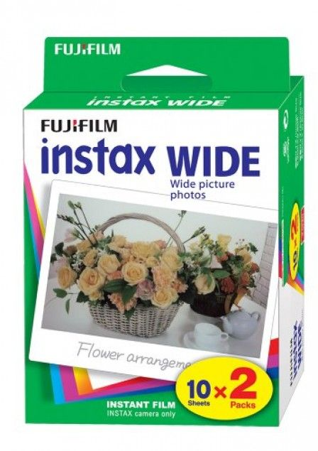 Fuji Instax Wide Film Double Pack – Lomography Shop