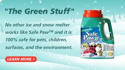 Safe Paw Original #1 Selling Pet Safe Ice Melter Snow Melter