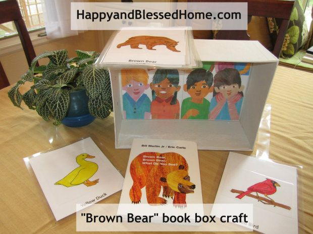 Children Books: A Brown Bear Book Box