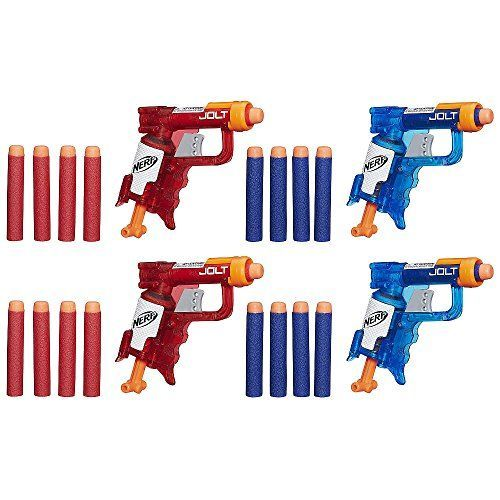 NERF N-Strike Elite Sonic Fire and Ice Jolt Team Pack of