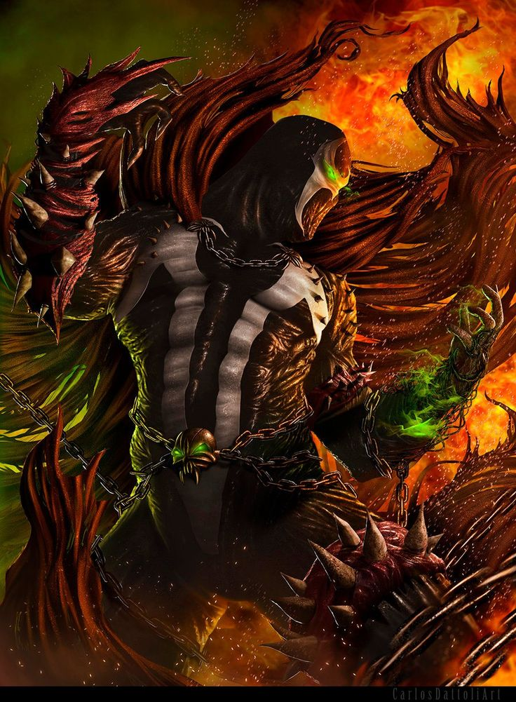 #Spawn #Fan #Art. (BECOMING SPAWN) By: CarlosDattoliArt. (THE * 5 * STÅR * ÅWARD * OF: * AW YEAH, IT'S MAJOR ÅWESOMENESS!!!™)[THANK Ü 4 PINNING<·><]<©>ÅÅÅ+(OB4E)