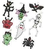 pony bead patterns | Halloween Pony Beading Patterns