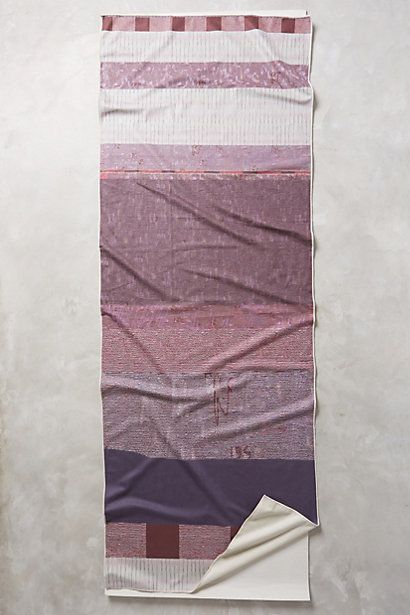 Dayfade Yoga Towel #anthropologie (Night Ombre or Primitive red)