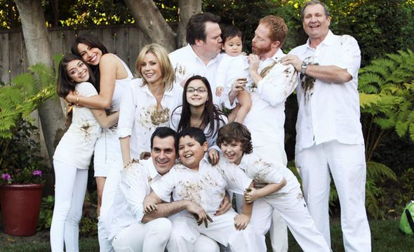 Episode Guide Contribute to our episode guide for the series., Characters Who's your favorite character?, Cast Meet the cast of Modern Family!, Behind the Scenes Go behind the scenes of your favorite show. Welcome to the Modern Family Wiki, a collaborative encyclopedia for everything and anything related to ABC's American sitcom Modern Family. Currently, there are 800 articles and we are still growing since this wiki was founded. The wiki format allows anyone to create or edit any article...