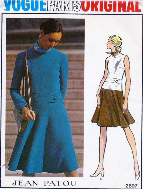 FAB Vogue Paris Original  Pattern 2697 Designer: Patou by anne8865