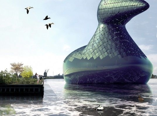 Gigantic 'Energy Duck' Could Generate Solar and Hydro Power for Copenhagen | Inhabitat - Sustainable Design Innovation, Eco Architecture, Gr...
