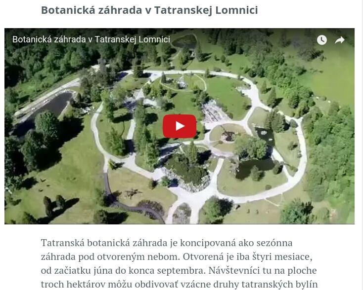 Botanické záhrady https://soda.o2.sk/tema/priroda-slovenska/zazite-prirodu-azie-ci-ameriky-u-nas-doma/
