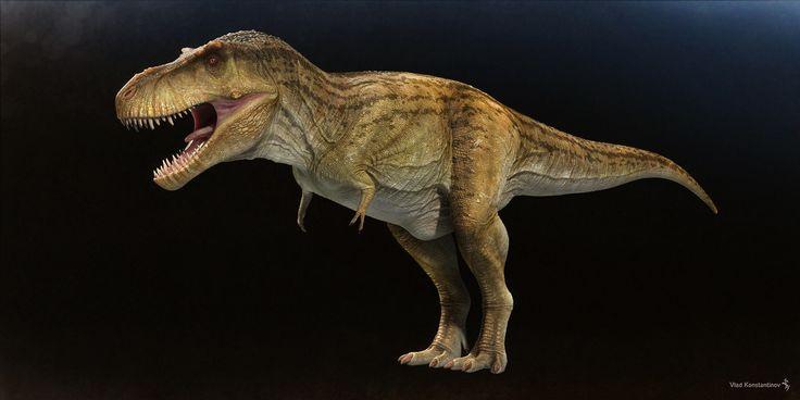 ArtStation - Tyrannosaurus for CGBreakdown, Vlad Konstantinov