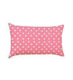 Stybuzz Pink Polka Dots Baby Pillow