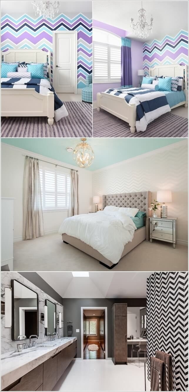 Create An Accent Wall With Techniques Such As Paint