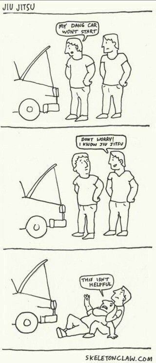 #Bjj cartoon comic Martial arts humor