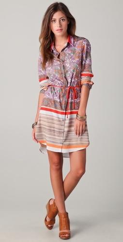 Clover Canyon Floral Woodgrain dress
