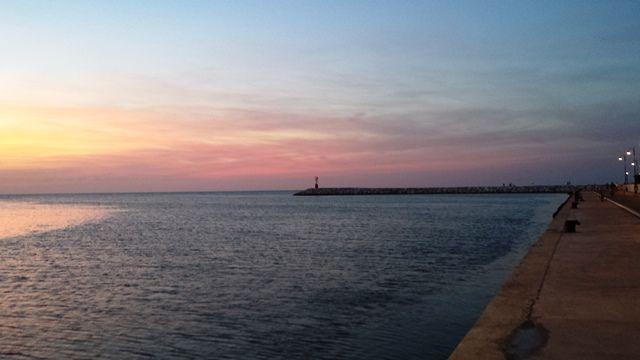 i colori del tramonto the colors of the sunset.  #sunset #tramonto #rimini