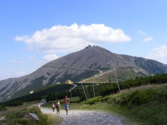 """Sniezka"" Mountain (pronounce: Shniechka)"