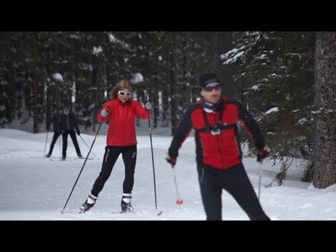 Langlaufen im Tiroler Oberland
