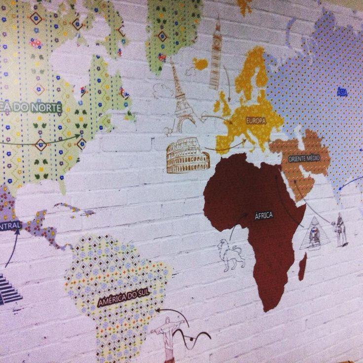Que tal a nossa sala de atendimento? Aqui você encontra um mundo de adesivos, entre e escolha o seu! #decor #office #adsiveshop #mapa #adesivo #novidades #patchwork #estampas
