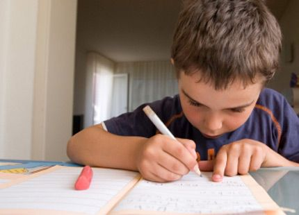 Homework Help for ADHD Students   ADDitude   ADHD Information     Focus on the Family Child sitting alone in school