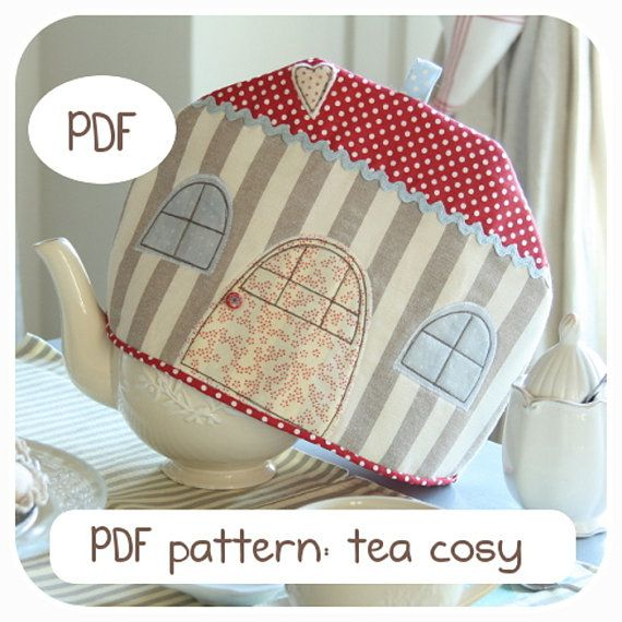 PDF pattern house tea cosy  Pattern tea cosy  by Mycountrynest, €6.50