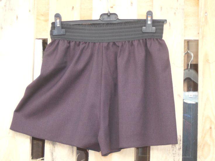 ZIP Culotte  60% Wool    20% Viscose   20% Poyester