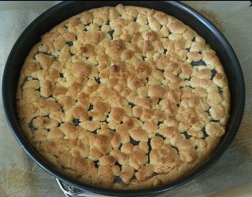 Mohn - Pudding - Kuchen
