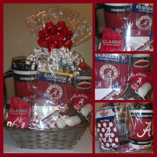 Alabama Football gift basket