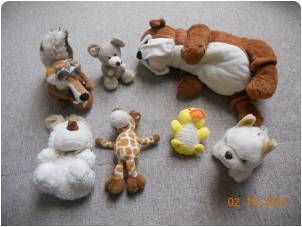 Plyšové hračky  z bazaru