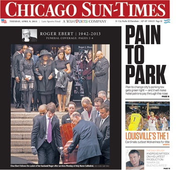 Read today's Chicago Sun-Times newspaper anytime, anywhere with the Chicago Sun-Times E-Paper app. Never miss a day of breaking news and sports from the Pulitzer Prize-winning news source for.