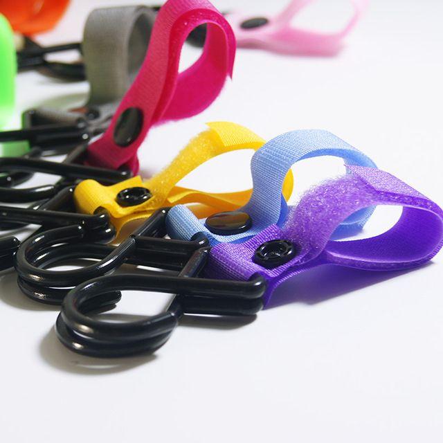 1 stück Kunststoff Zauberstab Kinderwagen Zubehör Haken Kinderwagen Kinderwagen Kleiderbügel Hängen Baby Auto Wagen Haken Zufällige Farbe