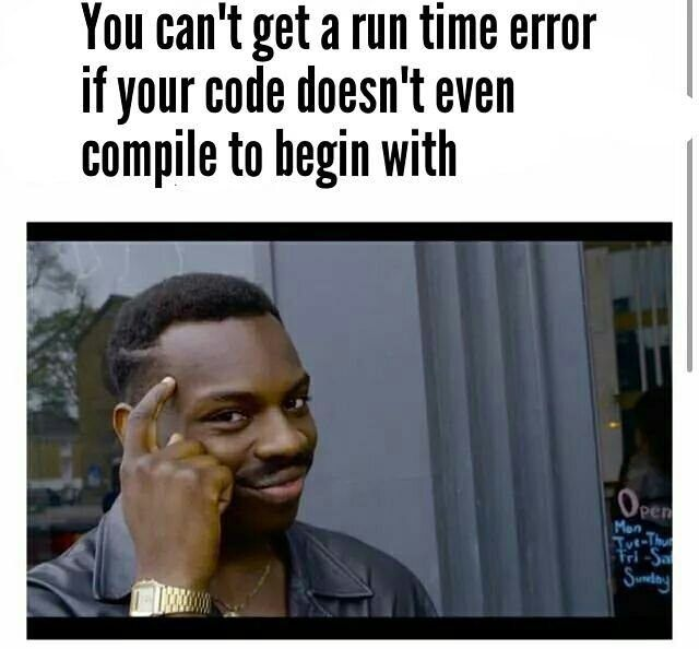 I love this meme format  #Coding #Programing #Developer #Memes #Technology #Java #C #C# #C #ObjectiveC #Python #Ruby #Java #Javascript #Html #Nodejs #Smart #Dank