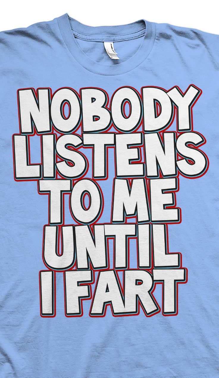 nobody listens to me T-shirt - Shop The Top Online T-Shirt Stores