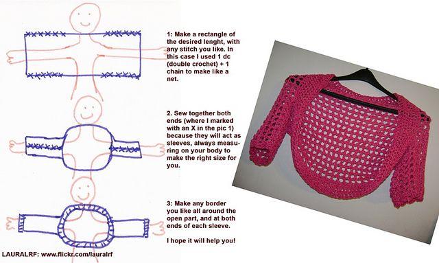 Shrug - easy pattern