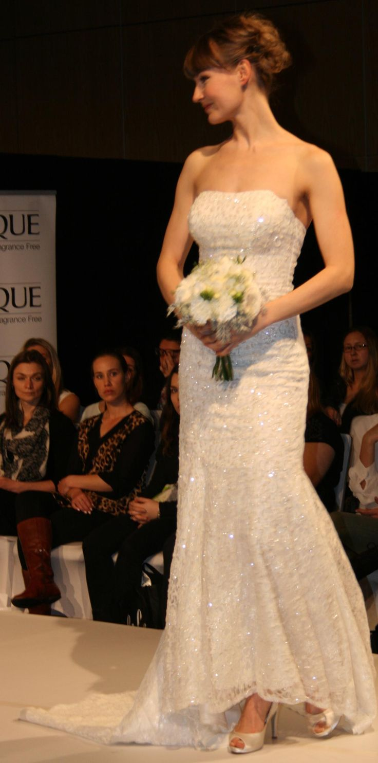 Bridal and Ball on the runway at the Grand Wedding Show Sky Tower September 28th 2014. Representing 3 of the different looks we cater for. The classic bride.