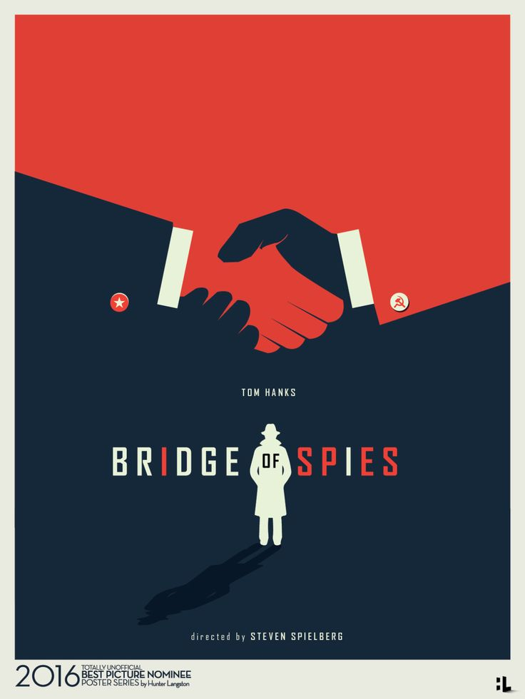 Movie Poster Movement — Bridge of Spies by Hunter Langston