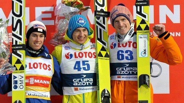 Stefan Kraft, Kamil Stoch, Severin Freund - FIS