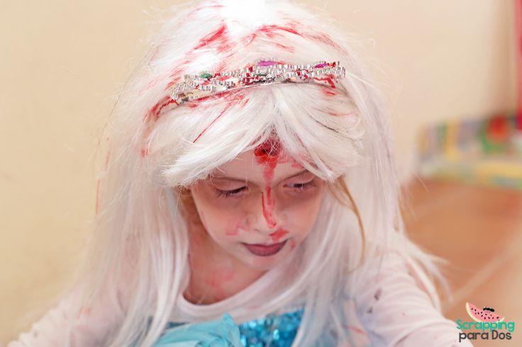 Disfraz de Princesa Zombie: Elsa Frozen