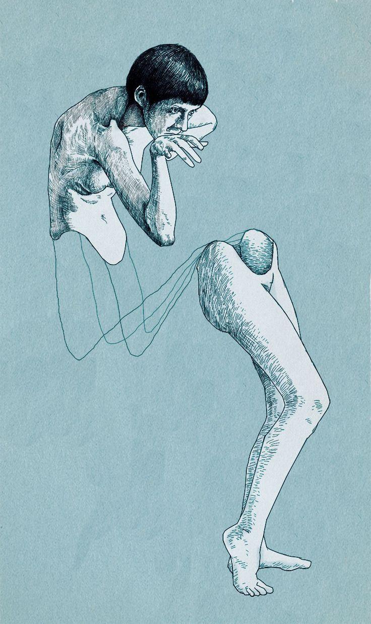 Holistic fragmentation by Ümit Boran #illustration