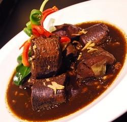 Gabus pucung, food of betawi people