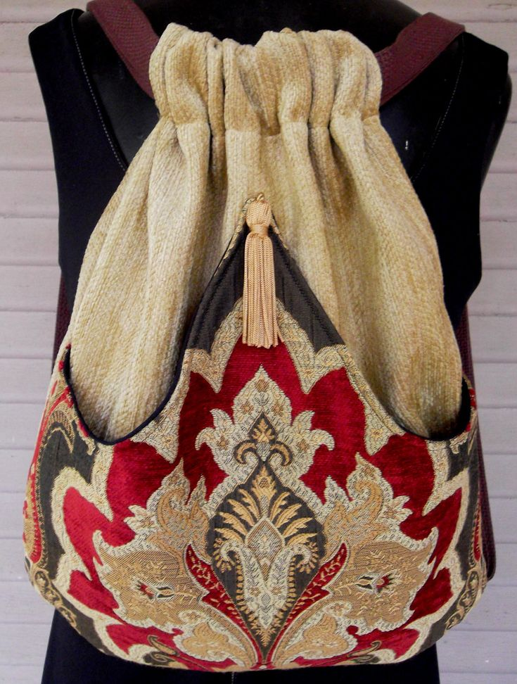 Tapestry Backpack in Rich Chenille